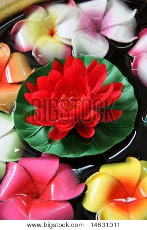 Red Flower Artificial