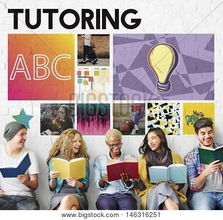 Alphabet Education Tutoring Kids Learning Concept