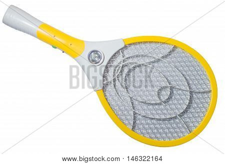 Electric mosquito swatter net racket for kill mosquito
