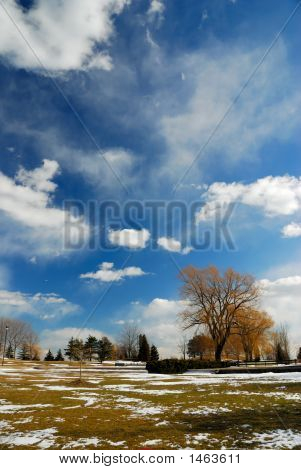 Um belo dia nublado