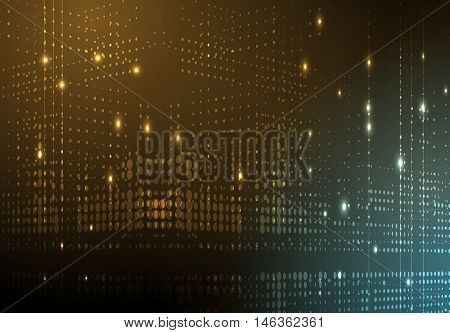 Technology abstract background collection for business solution ideas. Vector image