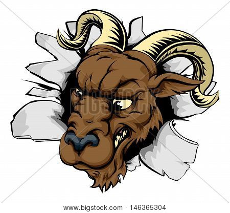 Ram Sports Mascot Breakthrough