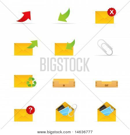 Mail Icon Set 1