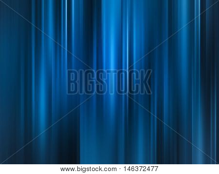 Abstract background blur motion soft blue curtain style