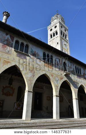 View of Duomo di Conegliano, Veneto, Italy