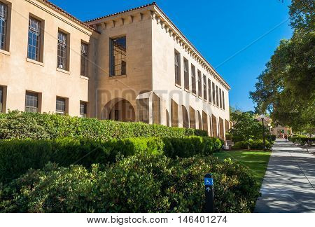 Stanford University Campus in Palo Alto, California - USA