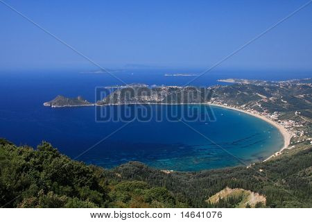 Agios Georgaos on corfu island Greece