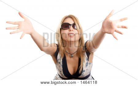 Woman With Sun Glasses
