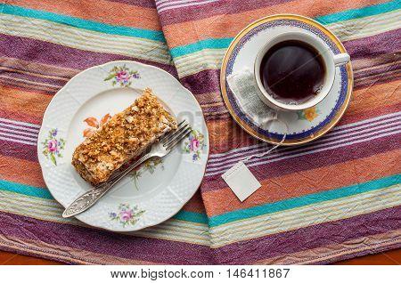 Russian Honey Cake. Medovik