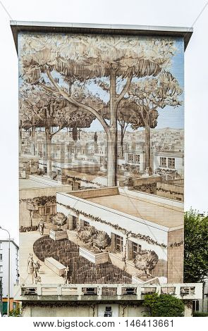 Famous Murals In Lyon