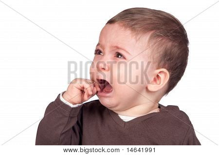 Beautiful Baby Crying