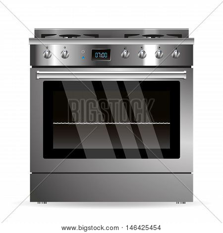 Vector Gas Oven