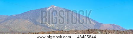 Panoramic View Of Volcano Teide, Tenerife, Canary Islands,