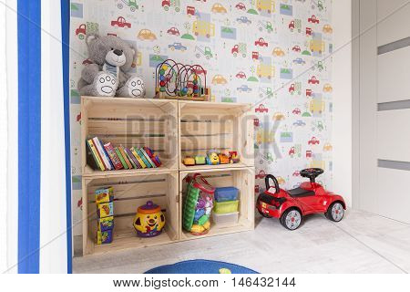 Cosy Room With Many Toys For Boys