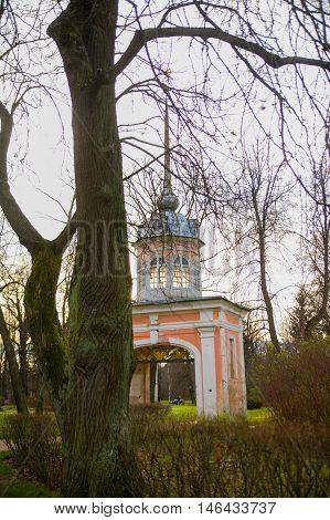 Arch. St. Petersburg - Oranienbaum, Lomonosov, Russia.