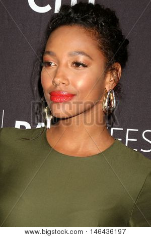 LOS ANGELES - SEP 8:  Kylie Bunbury at the PaleyFest 2016 Fall TV Preview - FOX at the Paley Center For Media on September 8, 2016 in Beverly Hills, CA