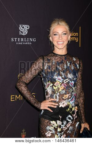 LOS ANGELES - SEP 8:  Julianne Hough at the TV Academy Reception for the Nominees for Outstanding Casting at the Montage Hotel on September 8, 2016 in Beverly Hills, CA