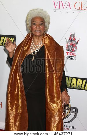 LOS ANGELES - SEP 7:  Nichelle Nichols at the