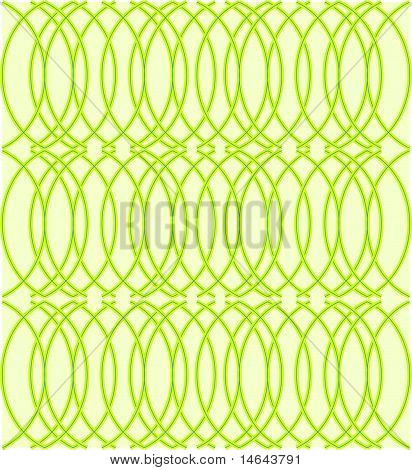 seamless chartreuse deco pattern
