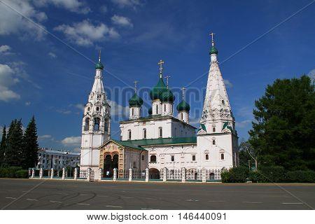 Church of Elijah the Prophet. Yaroslavl, Russia