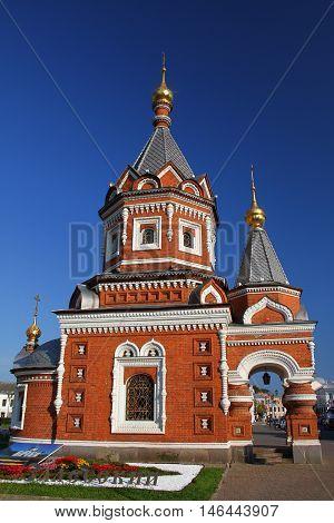 Chapel of Alexander Nevsky in Yaroslavl. Russia