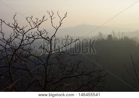 Mist Over The Hills