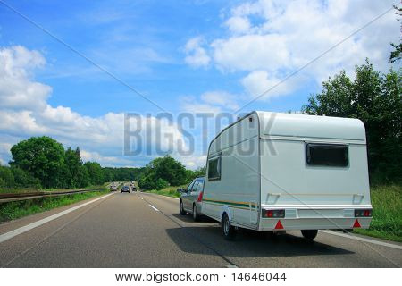 Caravan Country Highway in France