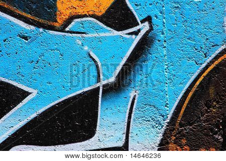 an awesome colorful graffiti Picture