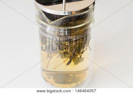 Brewed Sage Tea