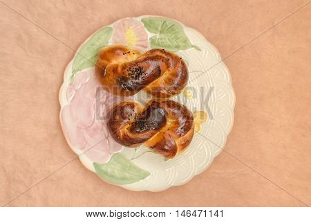 Traditional Turkish Pastry (acma)