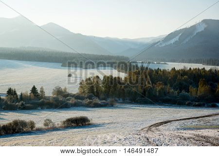 Western Carpathian, Tatry Mountains In Winter