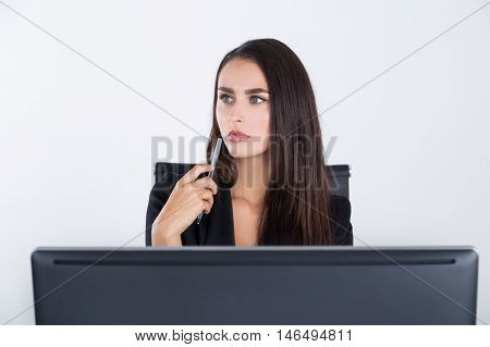 Woman Experiencing Midlife Crysis