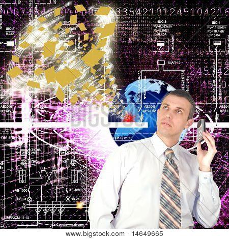 Internet tecnologia cósmica