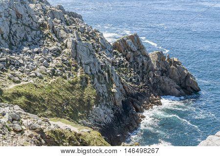 Pointe Du Raz In Brittany