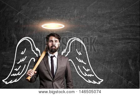 Angel Business Man