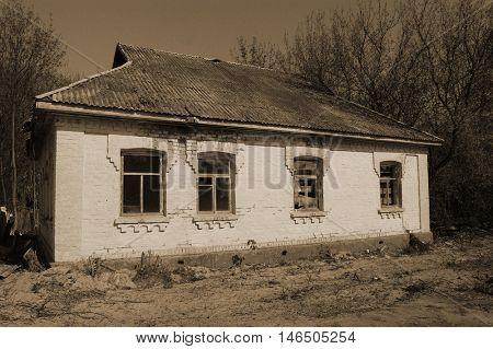 Chernobyl area.Kiev region,Ukraine