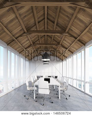Consulting Company's Office  In Attic