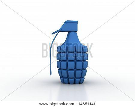 Blue Hand Grenade