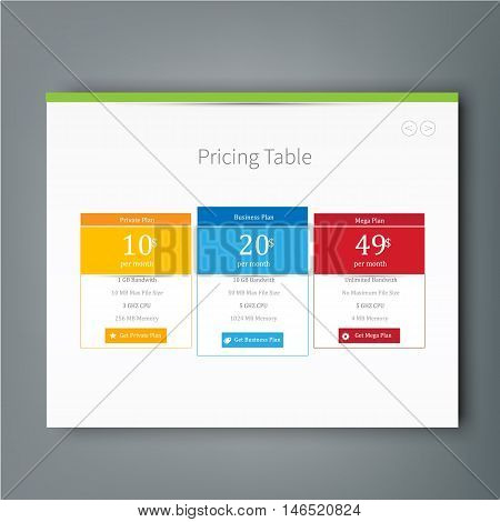 Multipurpose template for presentation slides with graphs and charts. Perfect for your business report or personal use.