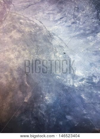 raw cement floor texture background in colorful dark tone