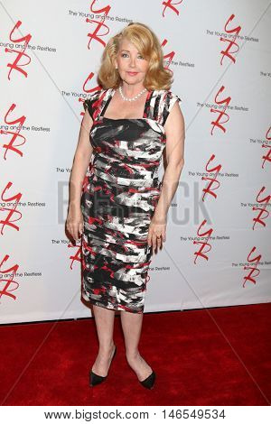 LOS ANGELES - SEP 8:  Melody Thomas Scott at the Young and The Resltless 11,000 Show Celebration at the CBS Television City on September 8, 2016 in Los Angeles, CA