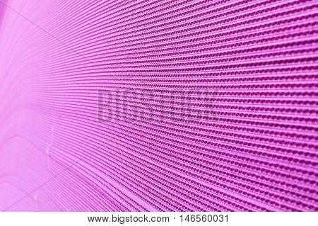 Abstract View of a Purple Corrugated Cardboard