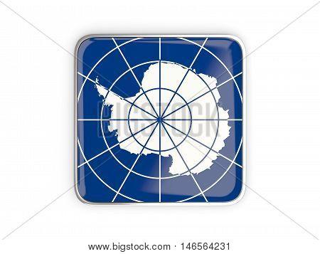 Flag Of Antarctica, Square Icon