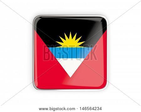 Flag Of Antigua And Barbuda, Square Icon