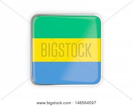 Flag Of Gabon, Square Icon