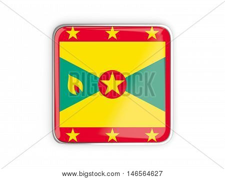 Flag Of Grenada, Square Icon