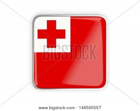Flag Of Tonga, Square Icon