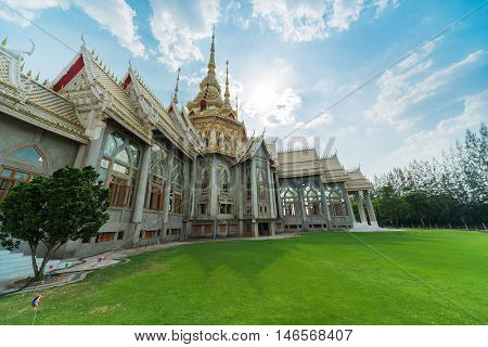Temple , Wat Thai They Are Public Domain Or Treasure Of Buddhism