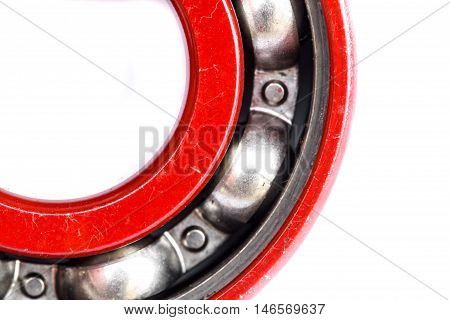Group of bearings isolated on white background