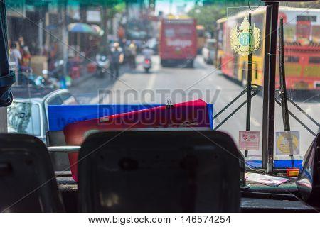Bus In Bangkok Thailand
